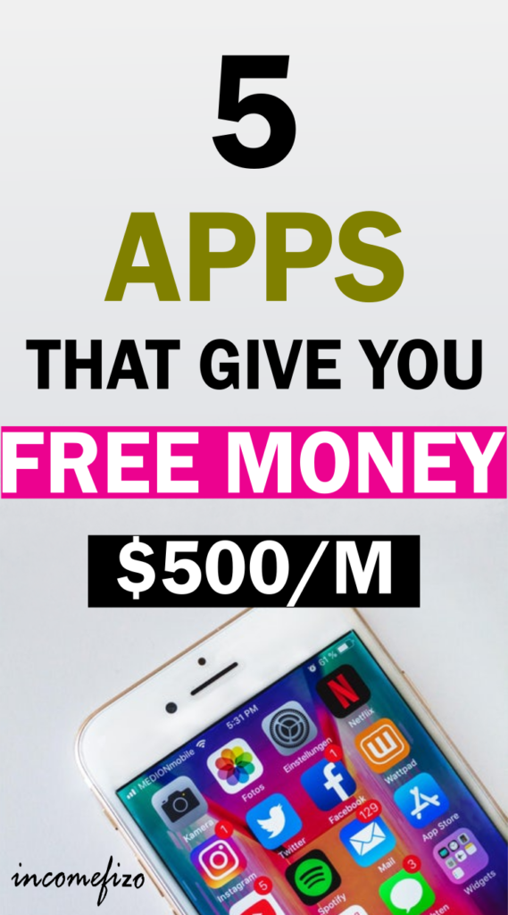 free apps that give you money