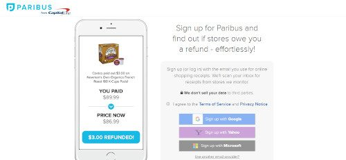 cash apps - paribus
